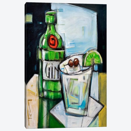 Gin And Tonic Canvas Print #TNG312} by Tim Nyberg Canvas Artwork