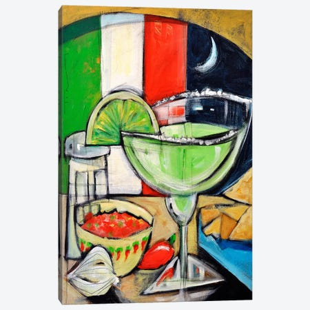 Margarita Canvas Print #TNG316} by Tim Nyberg Canvas Art Print