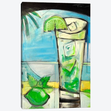Mojito Canvas Print #TNG318} by Tim Nyberg Canvas Art