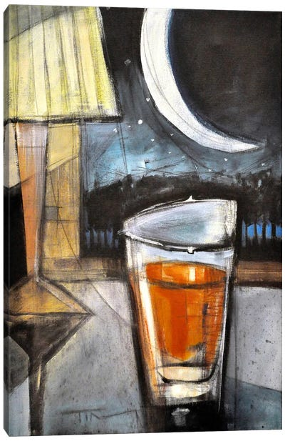 Nightcap Canvas Art Print