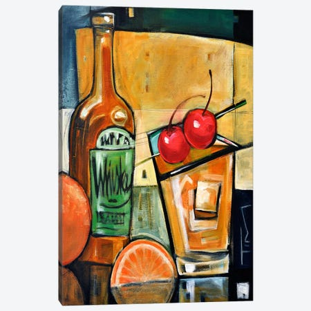 Old Fashioned Sweet Cherries Canvas Print #TNG320} by Tim Nyberg Art Print
