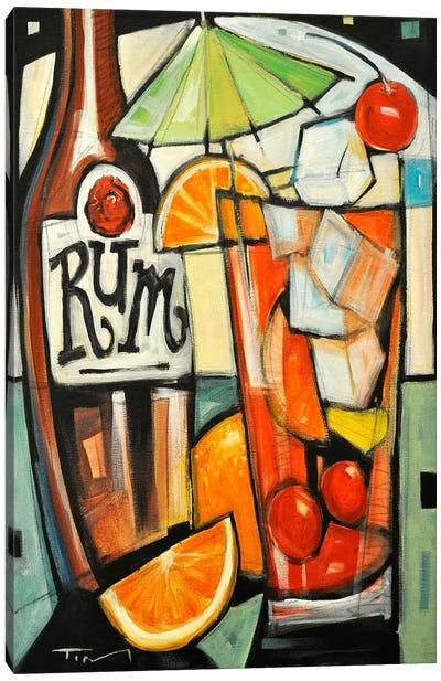 Tourist Drink Canvas Art Print