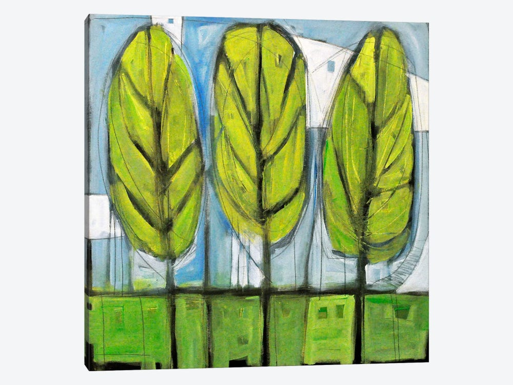 Spring Trees by Tim Nyberg 1-piece Canvas Art