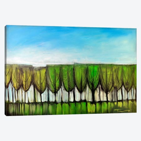Wineglass Treeline Canvas Print #TNG358} by Tim Nyberg Canvas Wall Art