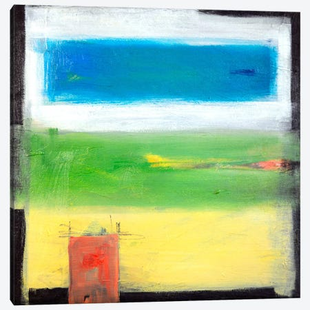 Rural Abstract Canvas Print #TNG37} by Tim Nyberg Art Print
