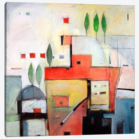 Seaside Villa Canvas Print #TNG40} by Tim Nyberg Canvas Print