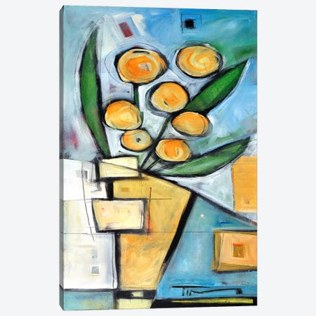 Orange Blossom Special Canvas Print #TNG58} by Tim Nyberg Canvas Artwork