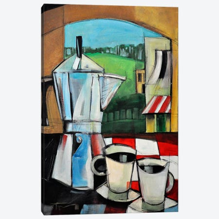 Espresso My Love Canvas Print #TNG90} by Tim Nyberg Canvas Wall Art