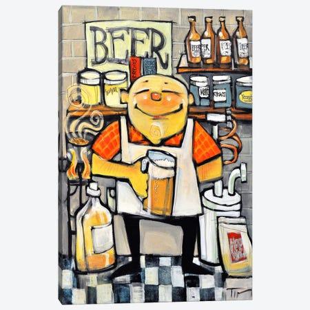 Basement Brewer Canvas Print #TNG99} by Tim Nyberg Canvas Art