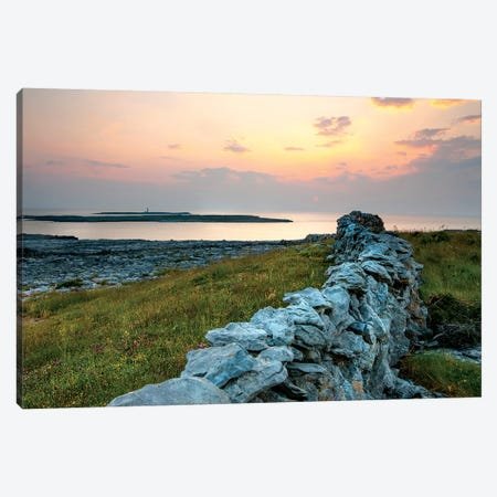Inishmore Island. Aran Islands. Ireland. Canvas Print #TNO23} by Tom Norring Art Print