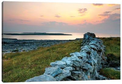 Inishmore Island. Aran Islands. Ireland. Canvas Art Print