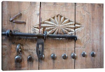 Door. Nizwa, Oman. Canvas Art Print