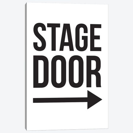 Stage Door Canvas Print #TNS102} by The Native State Art Print