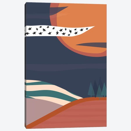 Starry Night Canvas Print #TNS104} by The Native State Canvas Artwork