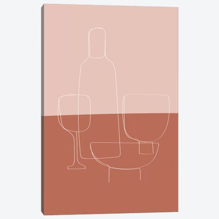 Tableware Canvas Print #TNS113} by The Native State Canvas Wall Art