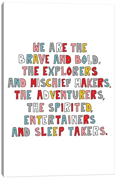 We Are The Young - Multicolor Canvas Art Print