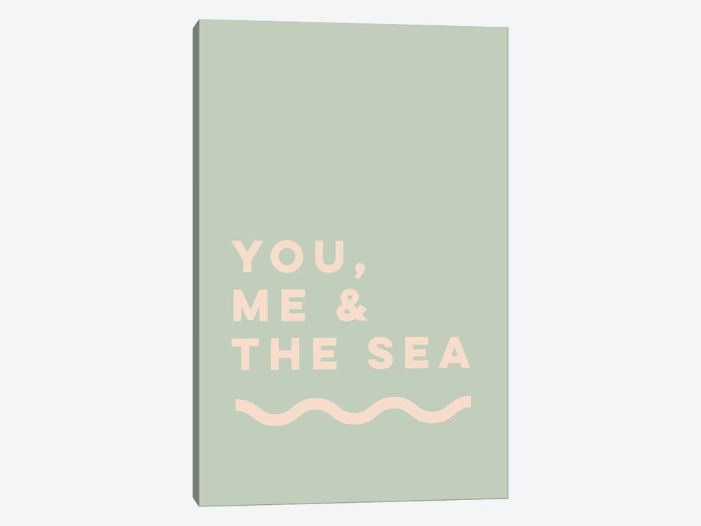 You, Me & The Sea by The Native State 1-piece Canvas Wall Art