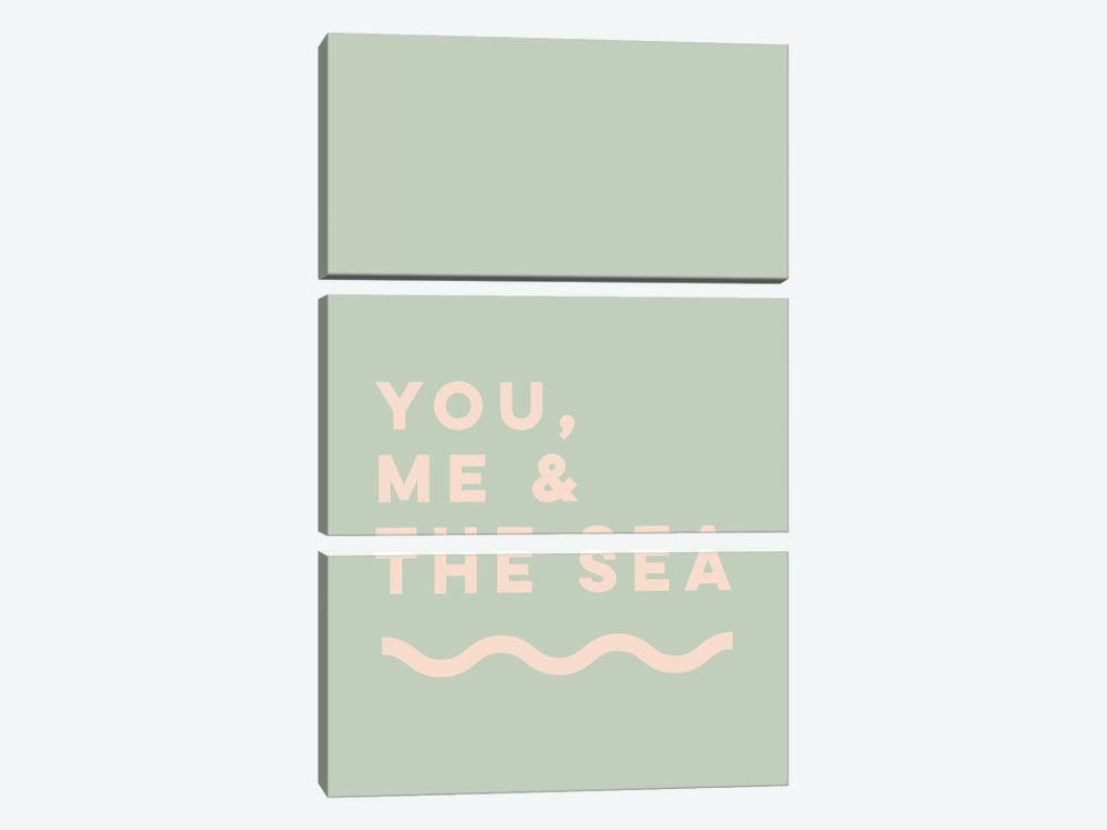 You, Me & The Sea by The Native State 3-piece Canvas Art