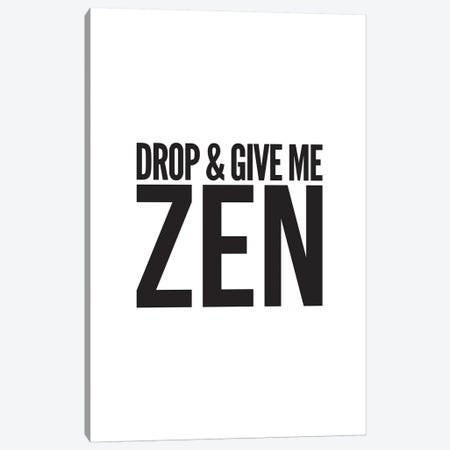 Zen Canvas Print #TNS128} by The Native State Canvas Art Print