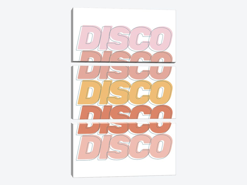 Disco Disco Disco by The Native State 3-piece Canvas Wall Art