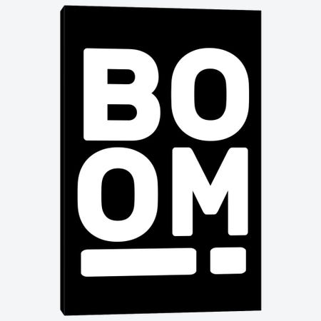 Boom! Canvas Print #TNS131} by The Native State Canvas Art