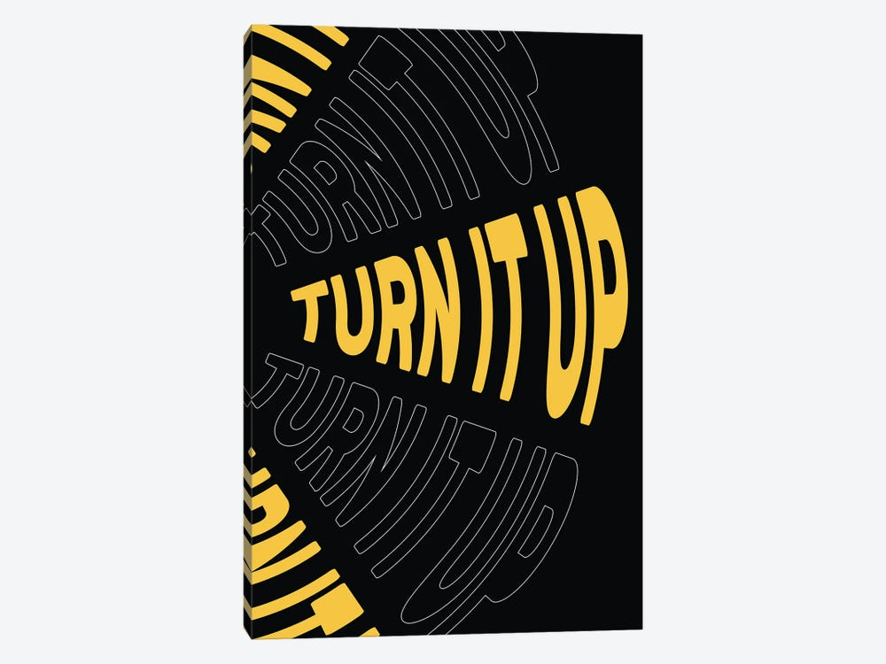 Turn It Up by The Native State 1-piece Canvas Artwork