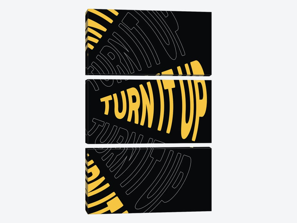 Turn It Up by The Native State 3-piece Canvas Art