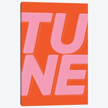 Tune Canvas Print #TNS135} by The Native State Canvas Print