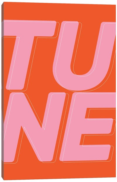 Tune Canvas Art Print