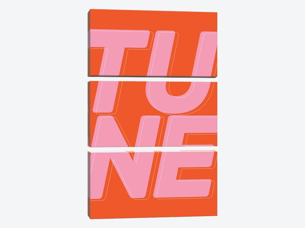 Tune by The Native State 3-piece Canvas Print