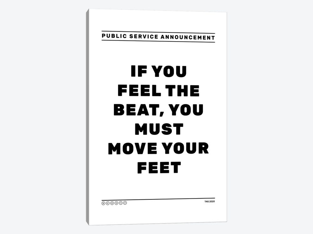Feel The Beat by The Native State 1-piece Canvas Art