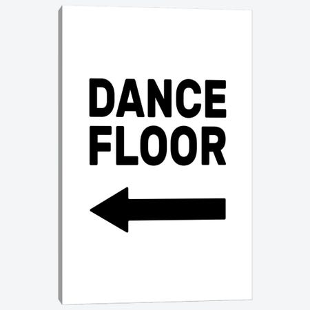 Dance Floor - Left Canvas Print #TNS139} by The Native State Canvas Wall Art