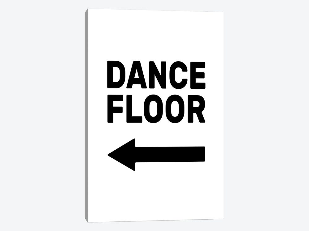 Dance Floor - Left by The Native State 1-piece Canvas Art Print