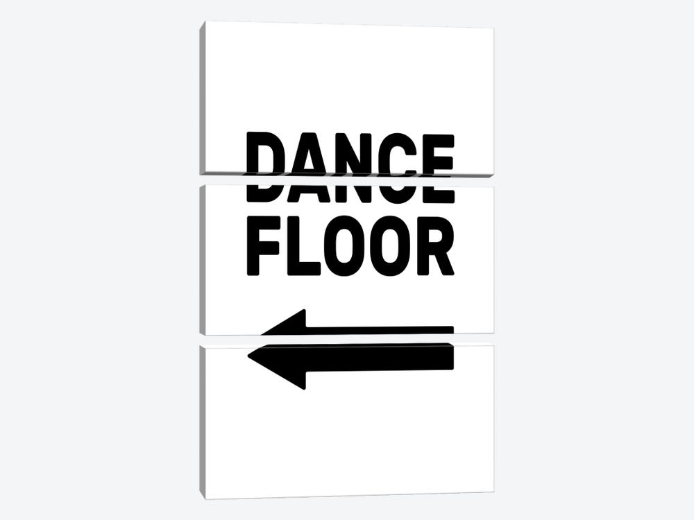 Dance Floor - Left by The Native State 3-piece Canvas Art Print