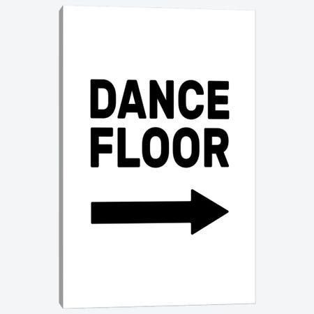Dance Floor - Right Canvas Print #TNS140} by The Native State Canvas Print