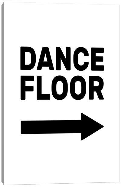 Dance Floor - Right Canvas Art Print