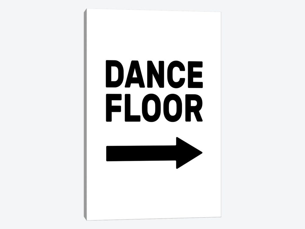Dance Floor - Right by The Native State 1-piece Art Print