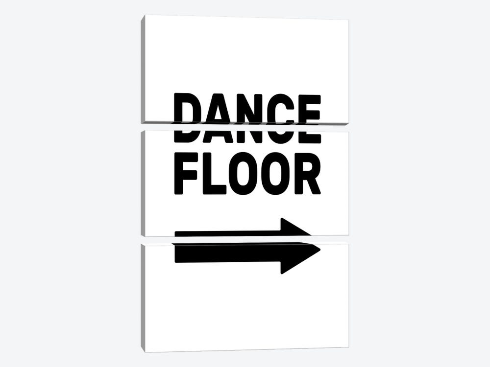 Dance Floor - Right by The Native State 3-piece Art Print