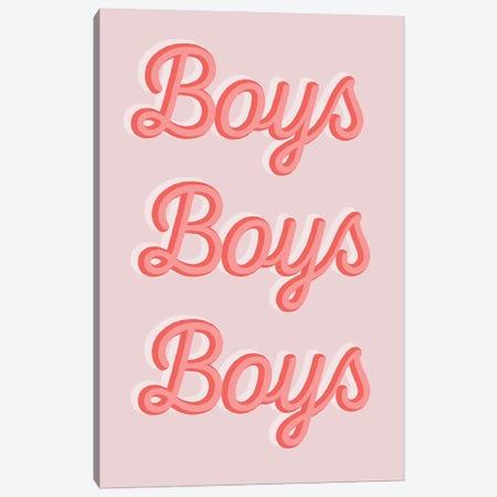 Boys Boys Boys 3-Piece Canvas #TNS14} by The Native State Canvas Print