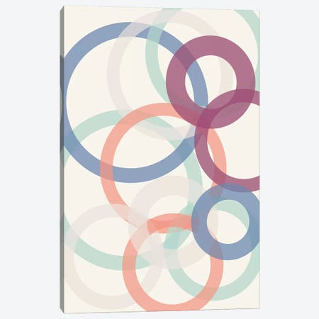 Bubbles Canvas Print #TNS15} by The Native State Art Print