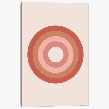 Bullseye Canvas Print #TNS16} by The Native State Art Print