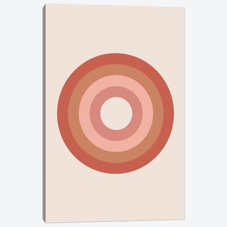 Bullseye Canvas Print #TNS16} by The Native State Art Print
