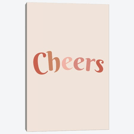 Cheers Canvas Print #TNS22} by The Native State Canvas Art Print