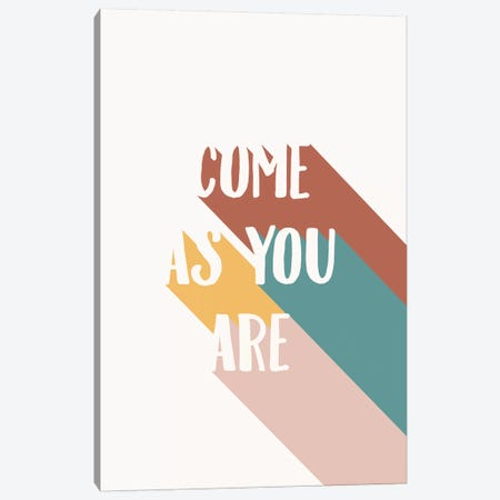 Come As You Are 3-Piece Canvas #TNS24} by The Native State Canvas Artwork