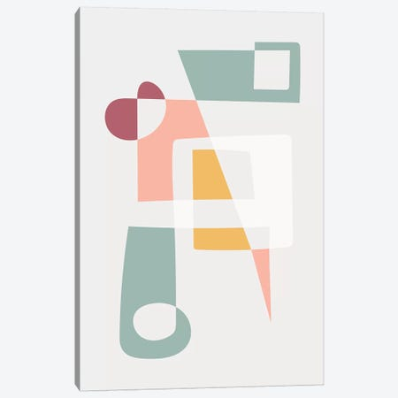 Get Into Shape Canvas Print #TNS37} by The Native State Canvas Art Print