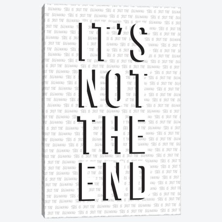 Just The Beginning Canvas Print #TNS54} by The Native State Art Print