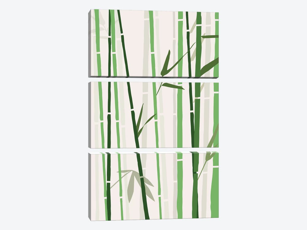 Bamboo by The Native State 3-piece Canvas Art