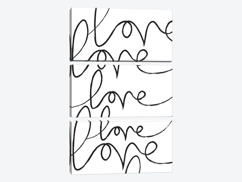 Long Lost Love by The Native State 3-piece Art Print