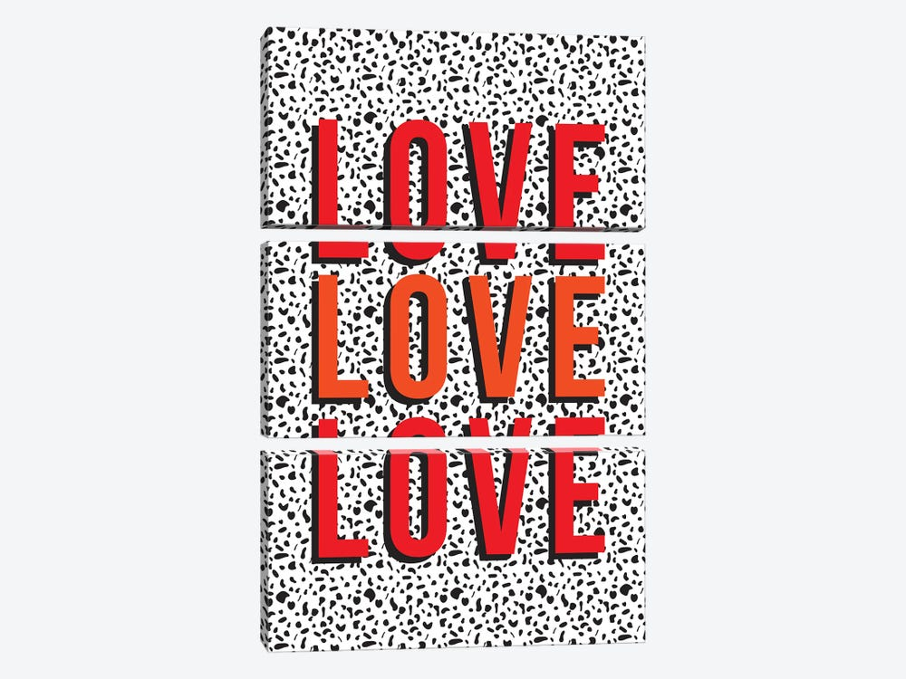 Love by The Native State 3-piece Canvas Art