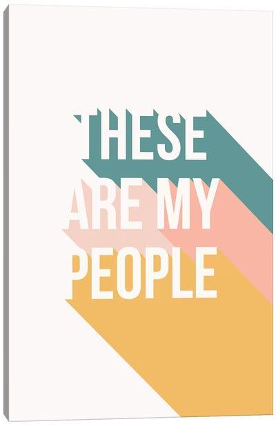 My People Canvas Art Print